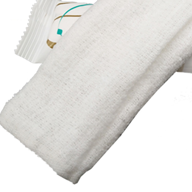 OEM Wet Cotton Towel for Airline, Food Service , Dining, Restaurant, And Cartering.