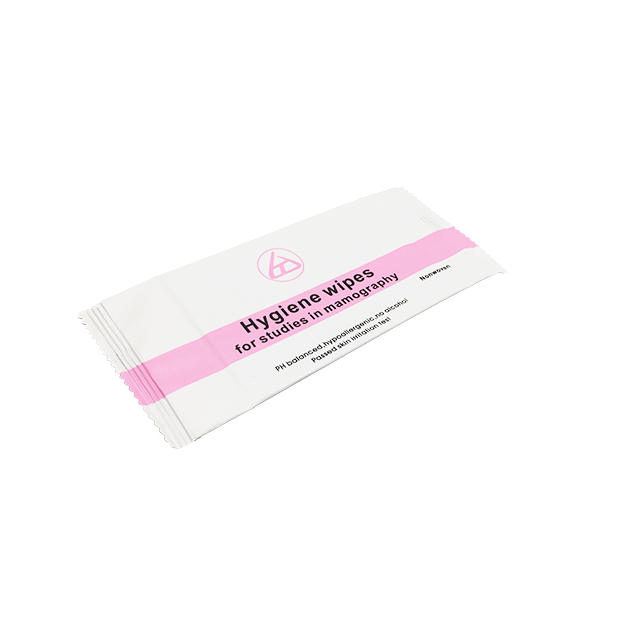 OEM Alcohol free Hygiene Wet Wipes For Studies In Mammography