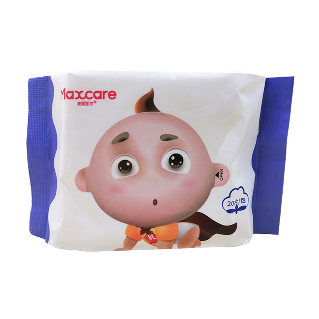 OEM Food Grade Packing Baby Safe And Gentle 100% Cotton Wet Wipes
