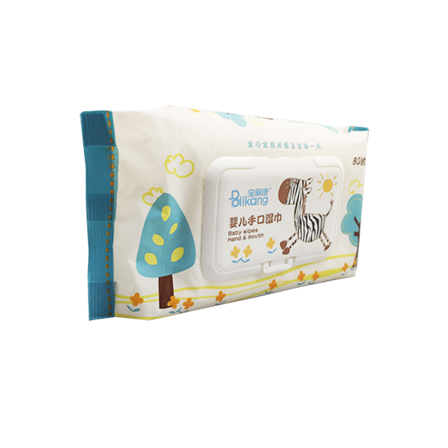 OEM Allergy Test Baby Wet Wipes For Hands and Mouths