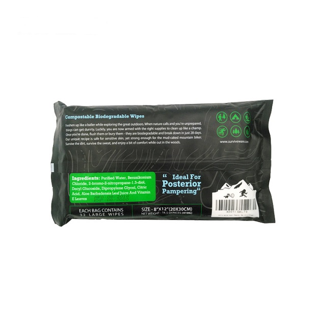 OEM Massive Size Body Cleaning Wet Wipes