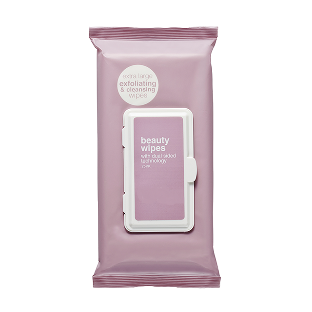 OEM Extra Large Exfoliating And Cleansing Makeup Remover Wipes