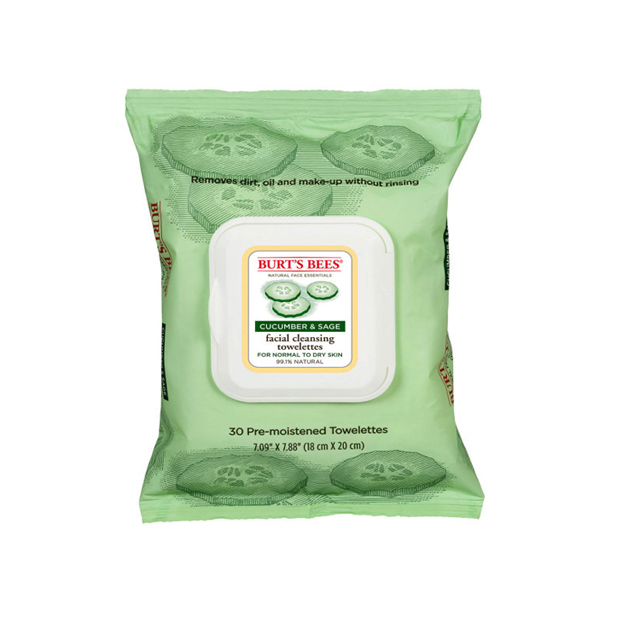 OEM Cucumber Scent Natural Facial Cleansing Wet Towelettes For Dry Skin