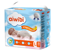 Aiwibi Baby Pants Factory Direct Super Absorption Embossed Tender Topsheet